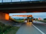Wagert im Einsatz – Brückenprüfung auf der A3