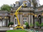 Wagert im Einsatz – Fenstersanierung in der Bayreuther Eremitage